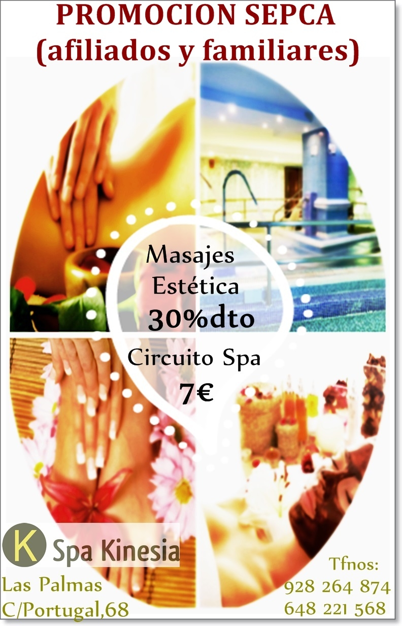 CARTEL SPA KINESIA